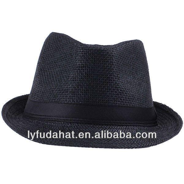 Summer straw Cheap Fedora hats for men $1~$4