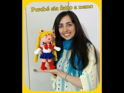 Guerriera AMIGURUMI (with English Subtitles) - Uncinetto, Crochet, Ganchillo - YouTube