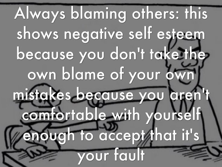 Always blaming others and complaining.  These types find themselves alone.  No one wants to hear it.