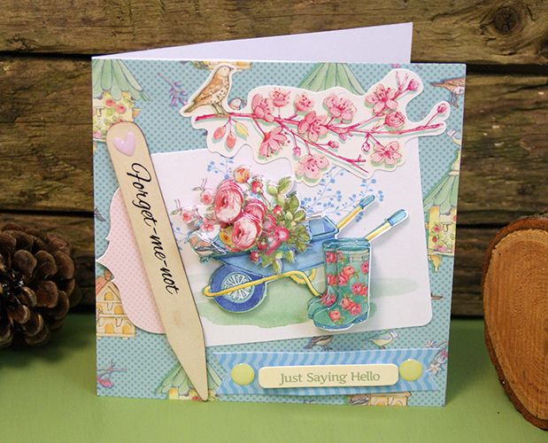 3 Crafty Ways With Dovecraft Forget Me Not Papercraft Collection - Trimcraft