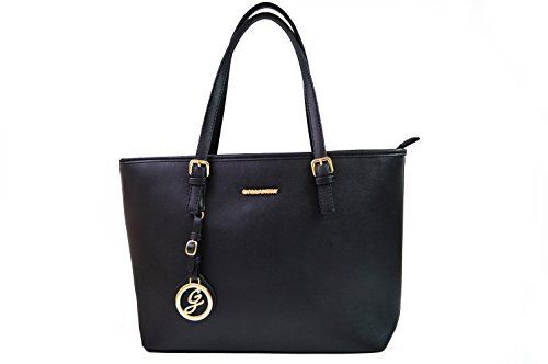 Gallantry – Sac de cours sac à main fille sac lycéenne: Ce grand sac a main Gallantry peut recevoir des documents A4 et ainsi constituer un…