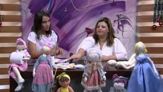 Boneca porta rolo de papel higiênico – Vivi Prado PT1 | Cantinho do Video