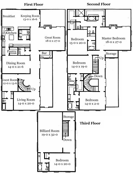 464 best f l o o r p l a n s images on pinterest for Authentic historical house plans