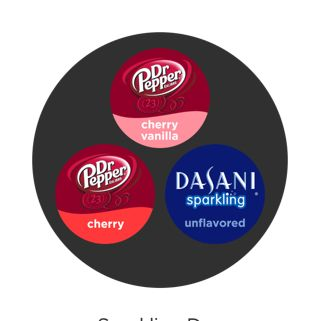 Check out the Sparkling Dr.p mix I created with the Coca-Cola freestyle® app. #mymix
