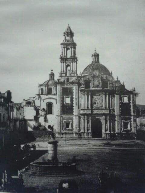 1890 iglesia de Santo Domingo