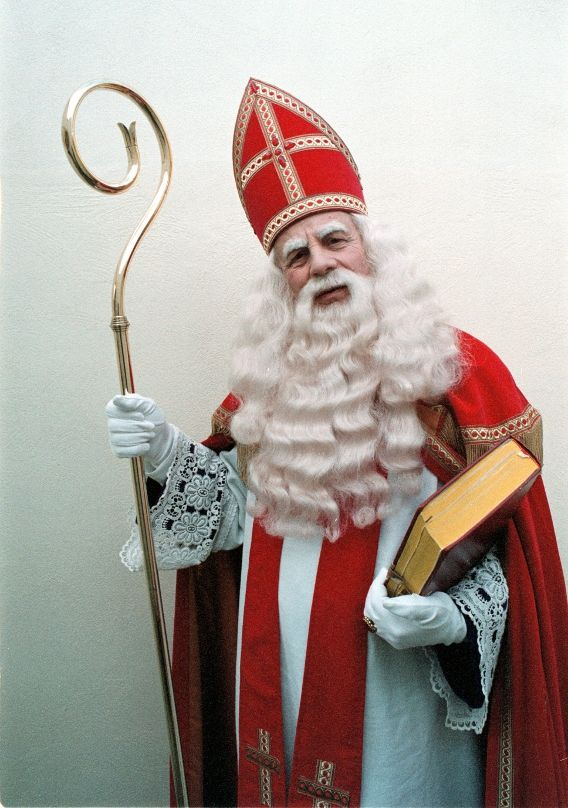 In November, Sinterklaas travels from his home in Spain to the Netherlands, bringing presents and special treats for the children. He celebrates his birthday december 5th, and children get there treats and gifts.