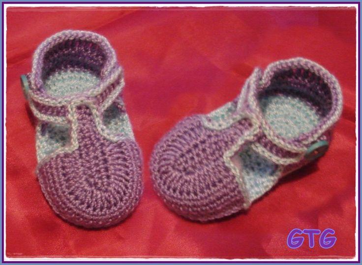 Zapatitos De Bebe A Crochet Buscar Con Google Zapatos