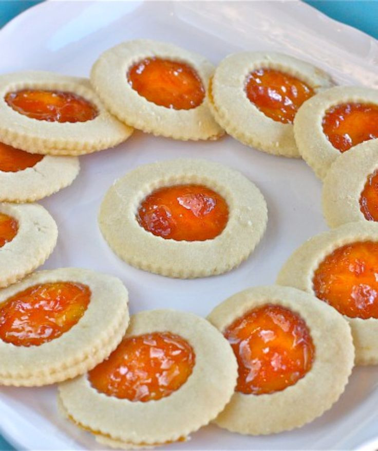 Apricot Shortbread Cookies - The Hopeless Housewife®Cookies Bar ...