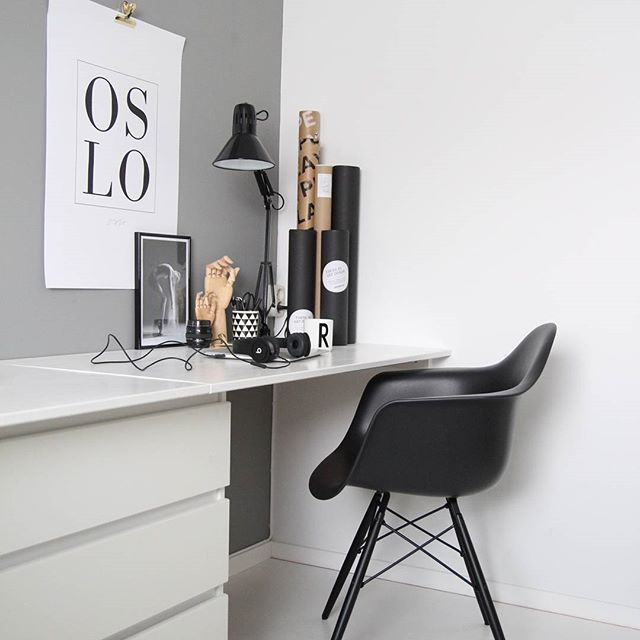 Corner workspace for a small home
