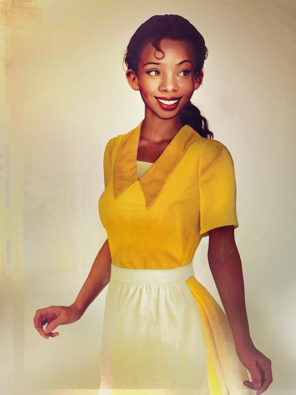 Disney Females Brought to Life: Tiana from The Princess and the Frog    by Jirka Väätäinen
