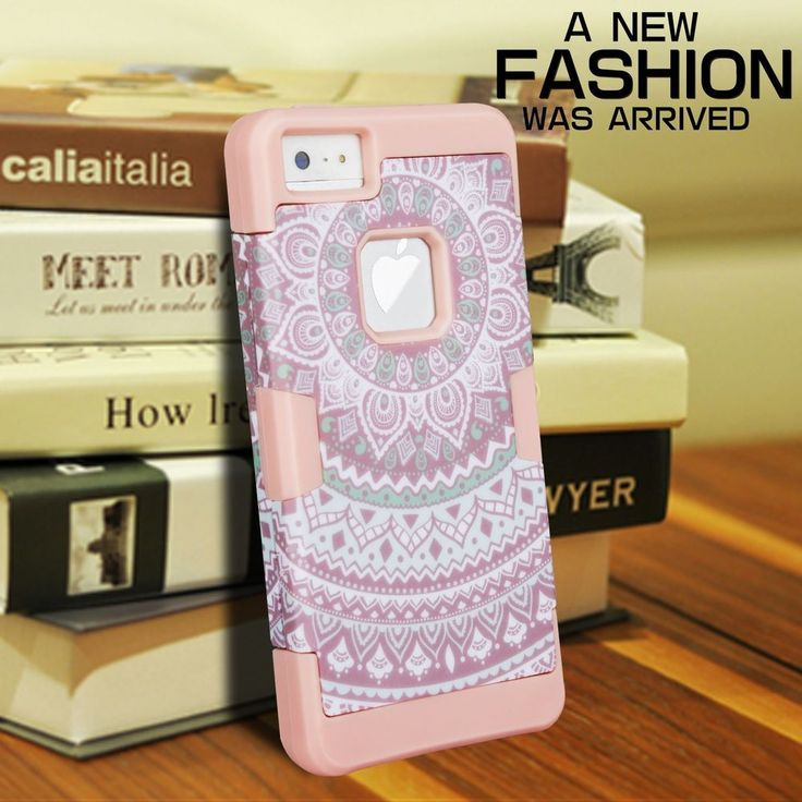 iPhone SE 5/5S Case,Women's Hybrid Heavy Duty Shockproof Protective Cover New | Cell Phones & Accessories, Cell Phone Accessories, Cases, Covers & Skins | eBay!