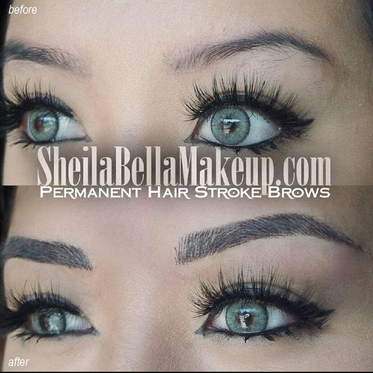 17 best images about eyebrow tattoo before and after on for Best eyebrow tattoo san diego