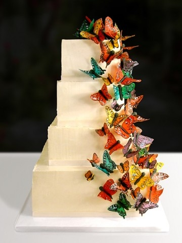 Butterfly Cake by Sweet Quince Cake