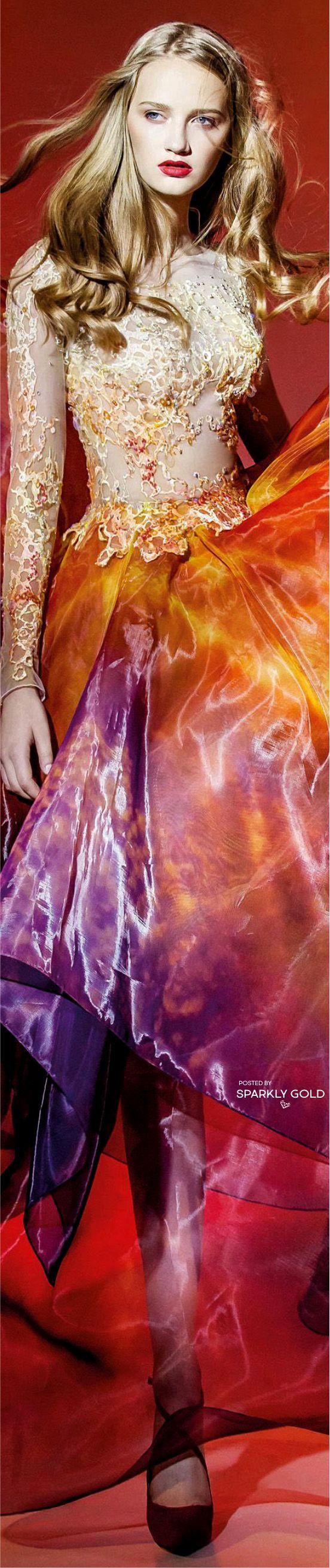 "Blanka Matragi /""Fire"" Fall 2016 Couture"