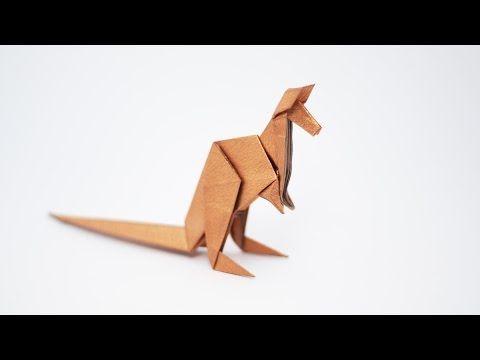 Origami Kangaroo - Diagrams and Video - Jo Nakashima