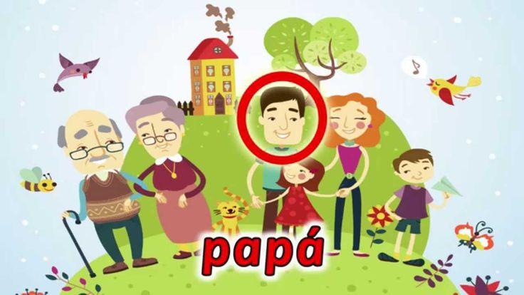 La Familia - video educativo para niños