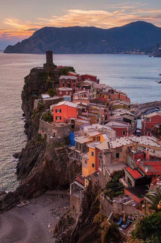 Vernazza, Cinque Terre. Italy.