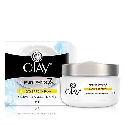 10X50 GRAM OF OLAY NATURAL WHITE DAY CREAM SPF-24 WITH FREE WORLD WIDE SHIPPING