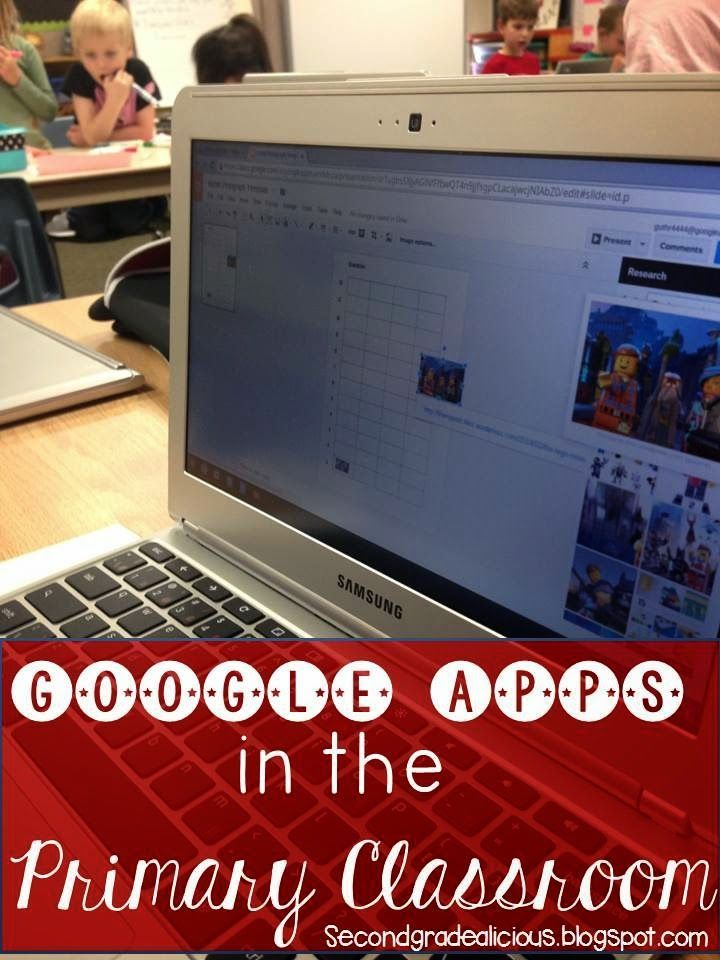 Secondgradealicious: Google Apps for the Primary Classroom! Google docs, google presentation, and google drawings are great tools to use with the younger grades!