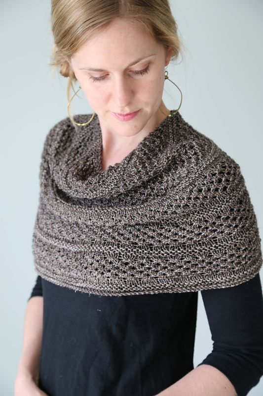 Starshower ~ pretty knitted shawl/cowl hybrid, $5 pattern download | by Hilary Smith Callis via Ravelry