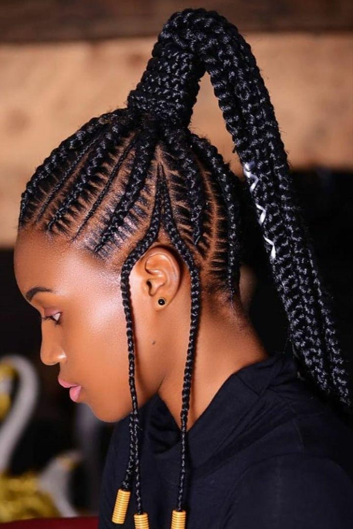 Latest Ghana Weaving Hairstyles 2020 Hair Styles African Hair Braiding Styles Hairstyles Kenya