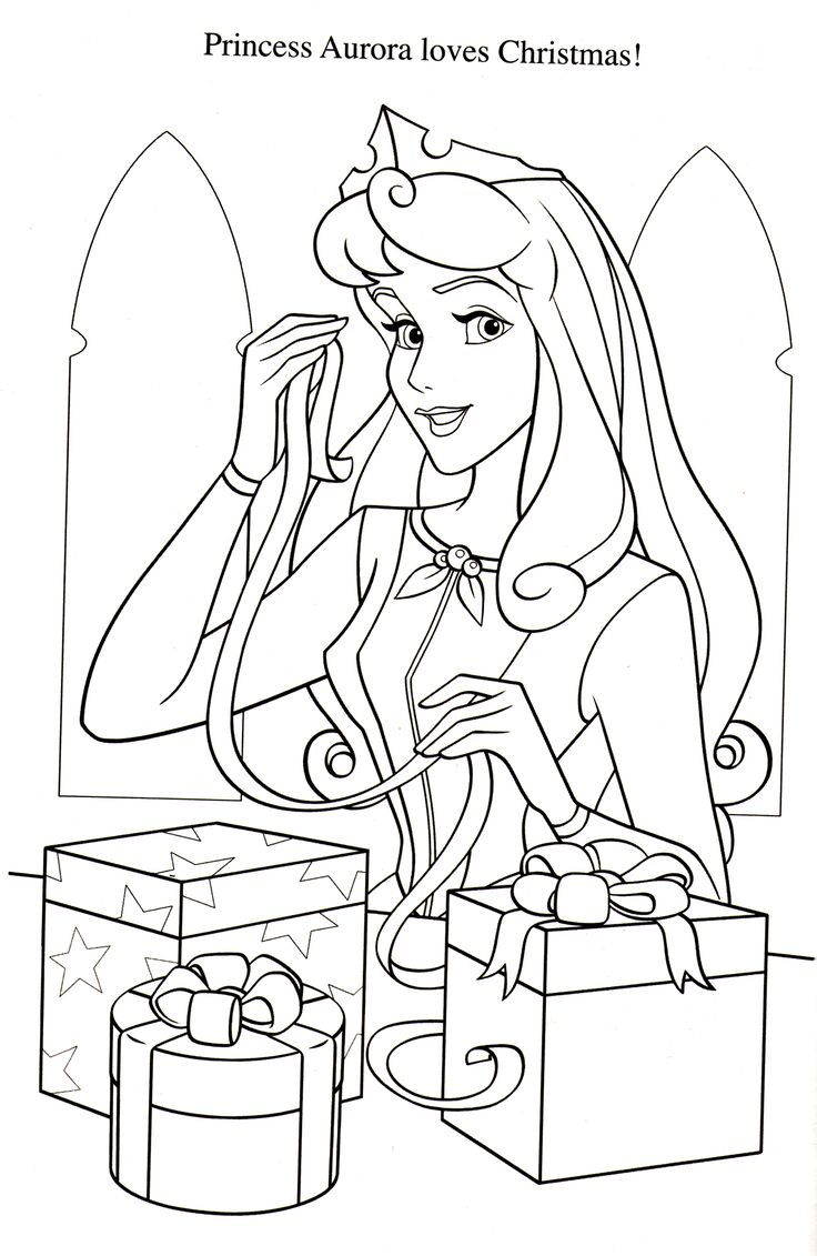 free printable disney princess christmas coloring pages - 167 best images about sleeping beauty on pinterest