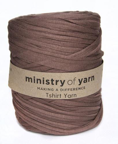 Puce Oddball T-shirt Yarn