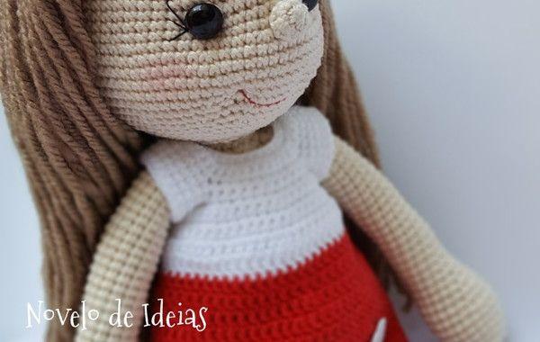 Boneca amigurumi/ boneca crochê (Nina) | Boneca amigurumi, Bonecas ... | 380x600
