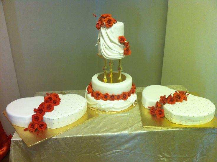 Lara's wedding cake!