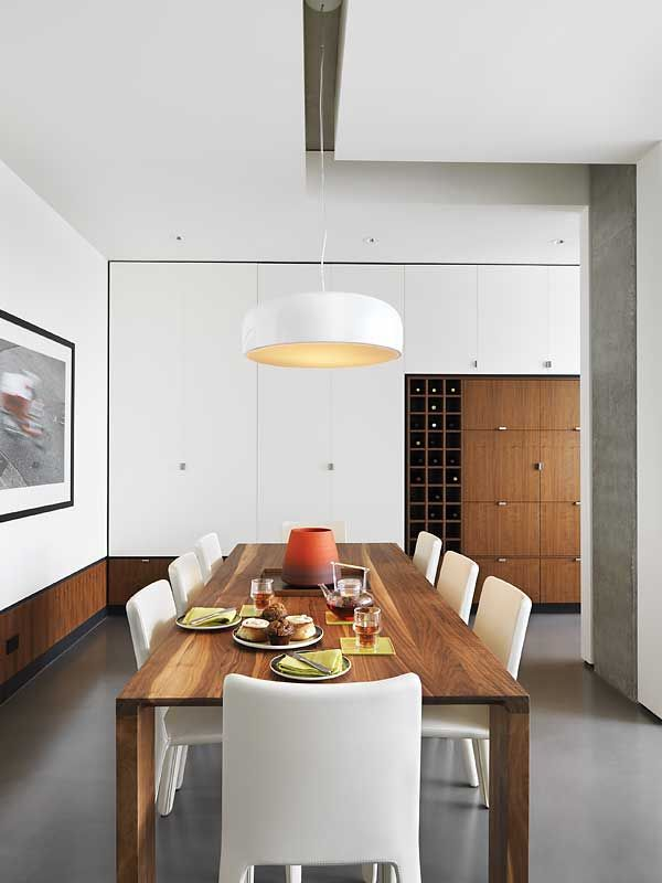 SMITHFIELD S Pendant Lamp From FLOS In A 1930s Renovated Home West Vancouver
