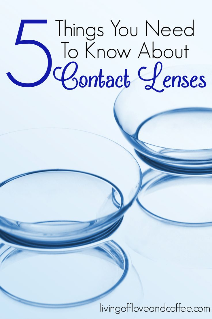 Here are 5 things to you need to know before you wear contacts, and information to help keep them clean.