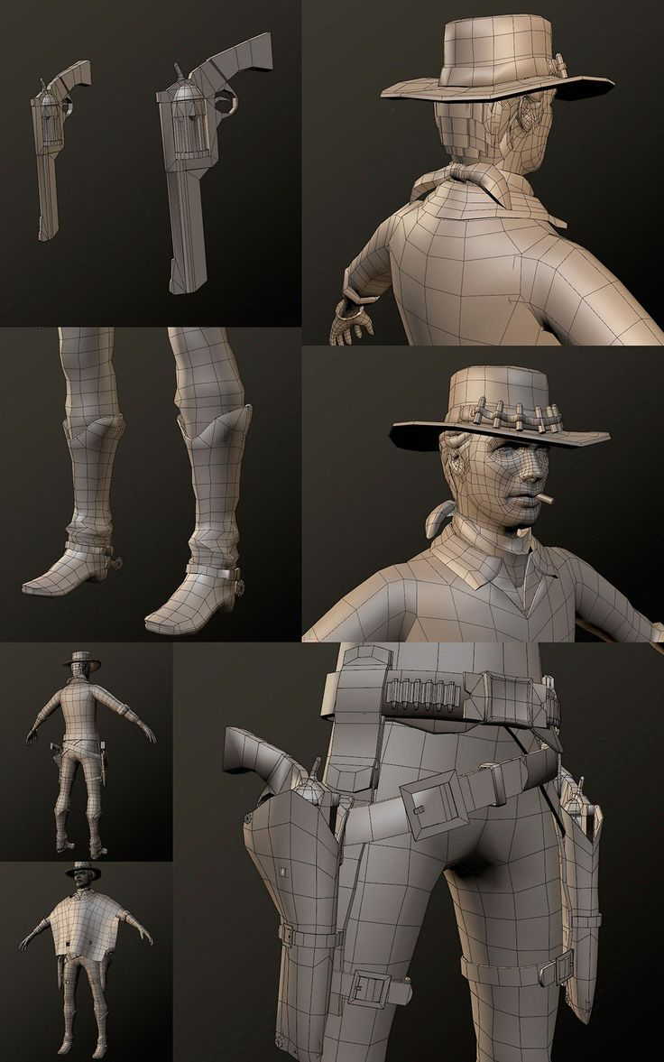 "Making Of ""Клинт Иствуд"" — Компьютерная графика и анимация — Render.ru"