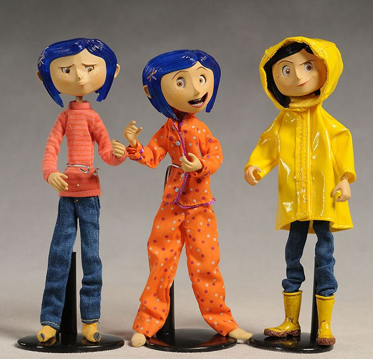 Coraline bendy action figures - Another Pop Culture Collectible Review by Michael Crawford, Captain Toy