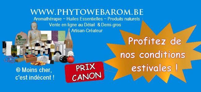 Bonjour, sur www.phytowebarom.be, c'est toujours la qualité à prix canon💰 Retrouvez ici 👉 http://www.phytowebarom.be/fr/catalogue/liste/ tous nos produits de marque Phytowebarom, Floressence, Bioflore et Pranarom (huiles essentielles, hydrolats,huiles végétales, ...) mais aussi nos parfums d'ambiance, diffuseurs, bijoux en pierres naturelles, fruits secs, verrerie,...  © Moins cher, c'est indécent ! #aromatherapie #aromathérapie #huileessentielle #huilesessentielles