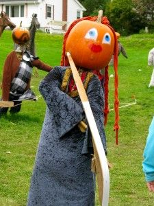 Pumpkin People in Nova Scotia's Annapolis Valley!