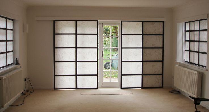 Cool Panel Track Blinds Sliding Glass Door Door Panel Sliding Panel Blinds Uk
