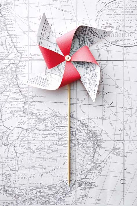how to make a paper windmill instructions