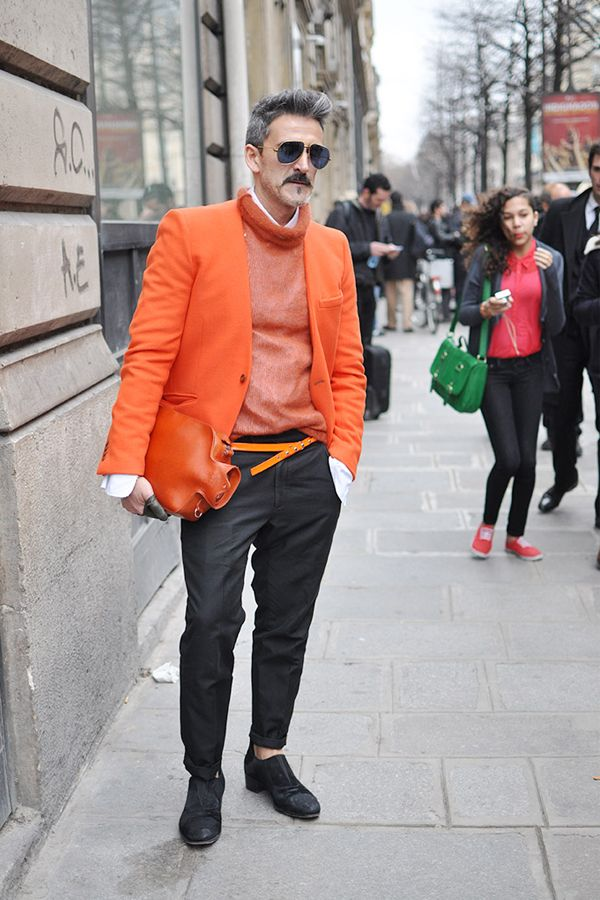 Weekend Inspiration for Men Street Style in Paris #model