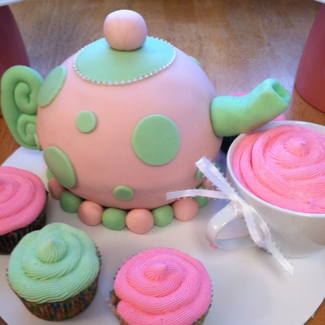 Cake Ideas For A Tea Party
