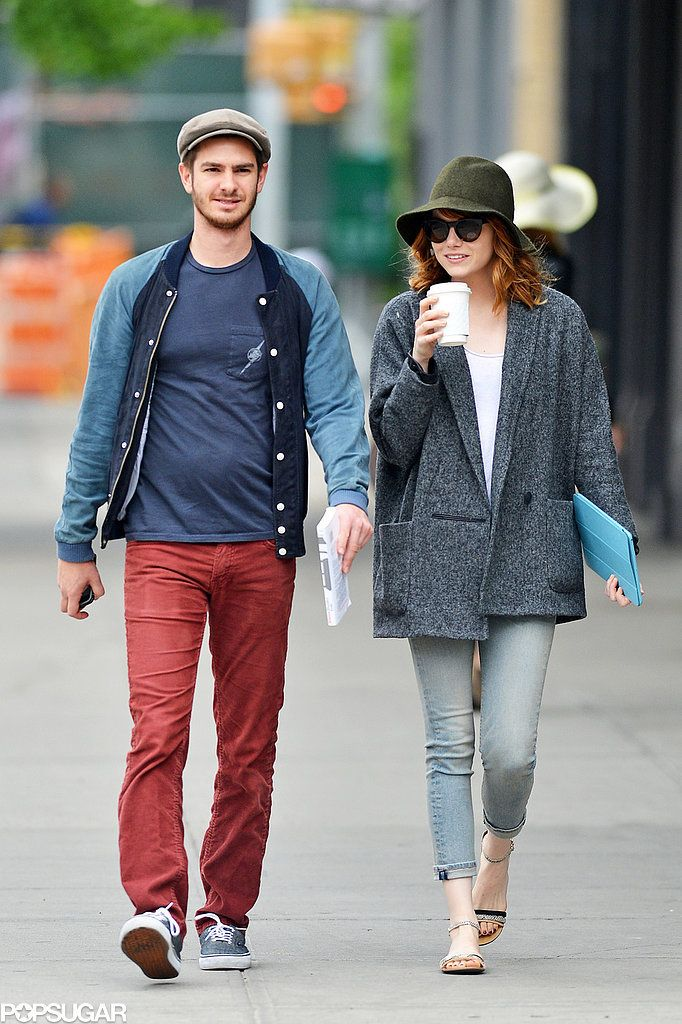 Emma Stone and Andrew Garfield in NYC.