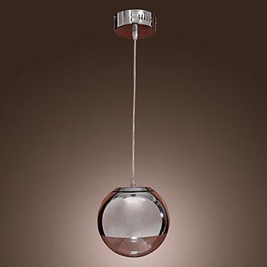 60W vedhæng lys i verden metal form – DKK kr. 364