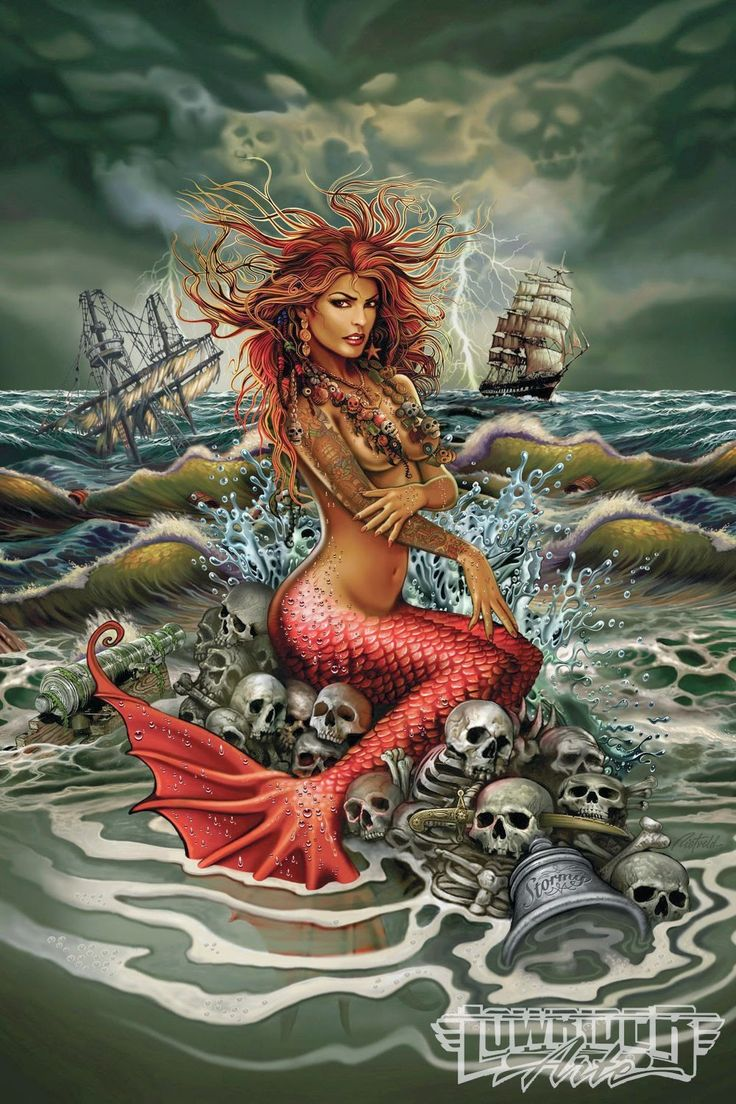 Kids mermaid art | Etsy