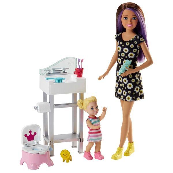 Superb Barbie Skippers Babysitter