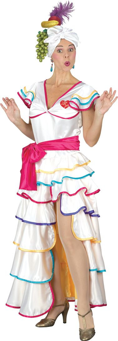 womens lucy rumba halloween costume size standard blast gifts - I Love Lucy Halloween Costumes
