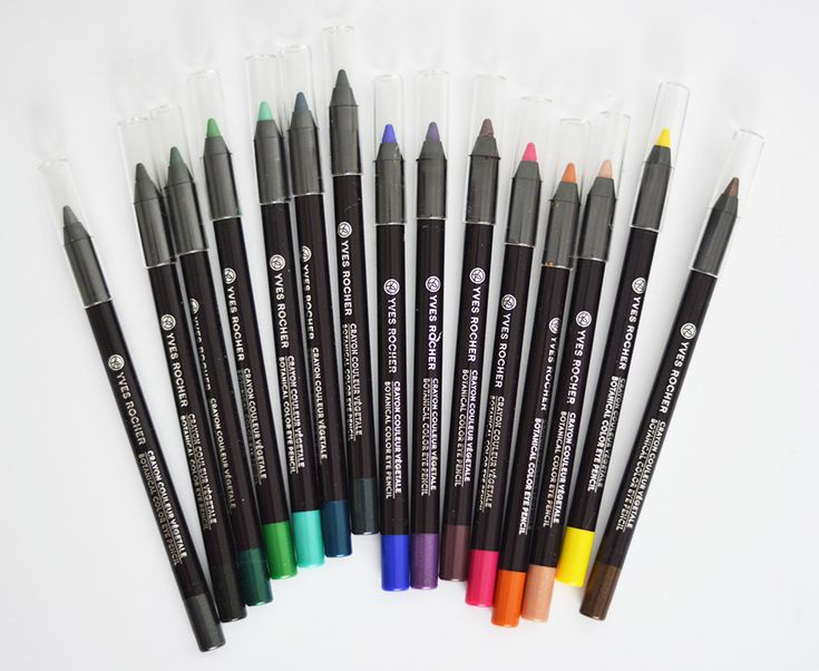Yves Rocher recently lauched a bunch of high pigmented eye pencils