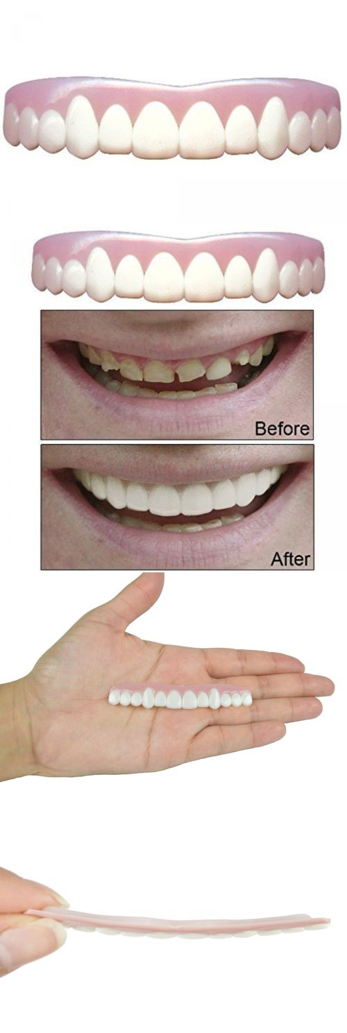 Other Oral Care: Cosmetic Snap On Dental Imako Upper Teeth Small Bleached Smile Cover Front Tooth -> BUY IT NOW ONLY: $44.75 on eBay! http://getfreecharcoaltoothpaste.tumblr.com