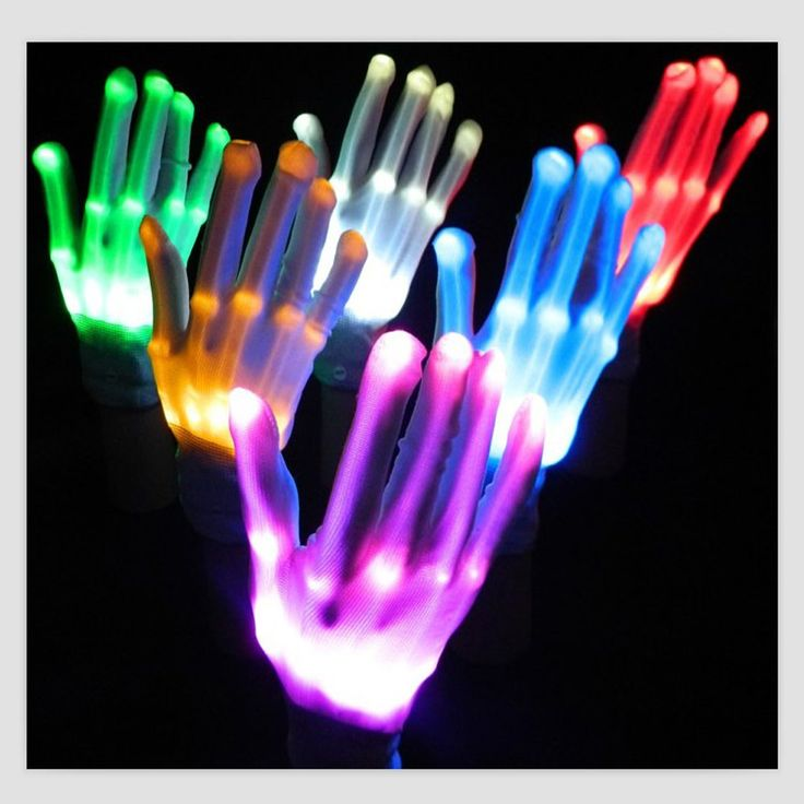 LED Skeleton Gloves //Price: $21.95 & FREE Shipping //     #trance