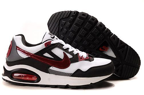 EfJUsk Nike Air Max Skyline Running Shoes Mens White/Black/Grey/Red