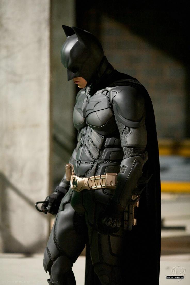 Christian Bale, 'Batman Begins.' (Warner Brothers ... Christian Bale Batman