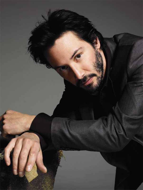 Love this pic of Keanu Reeves (but there is NEVER a bad pic of Keany Reeves